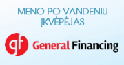 Meno po vandeniu įkvėpėjas: General Financing